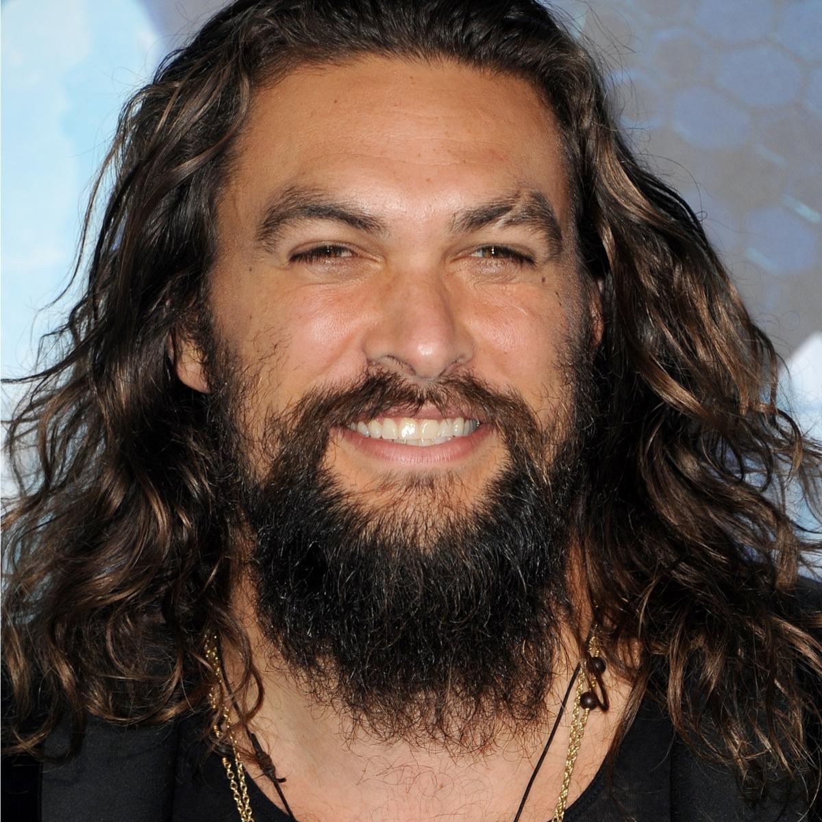 Jason Momoa Aquaman: Momoa Aquaman Jason Smiling